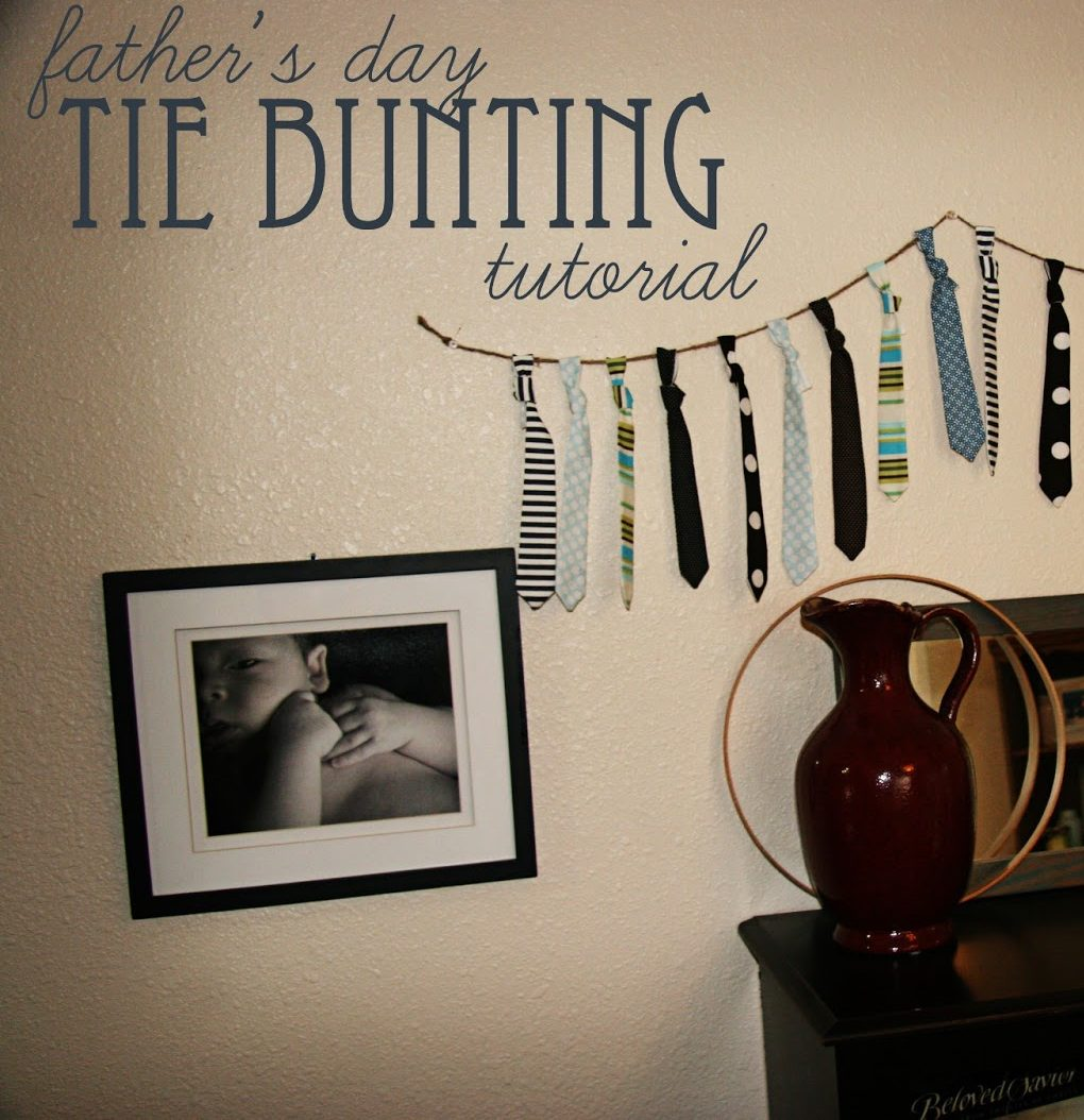 Father's Day Bunting » Phat Quarters Sewing