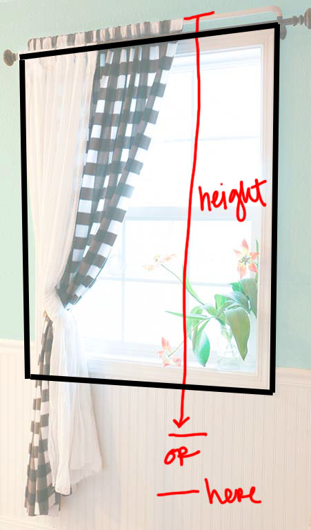 How To Sew A Simple Curtain, How To Measure A Window For Curtain Fabric